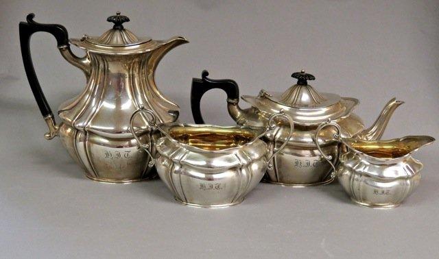 H.J. Taylor tea set