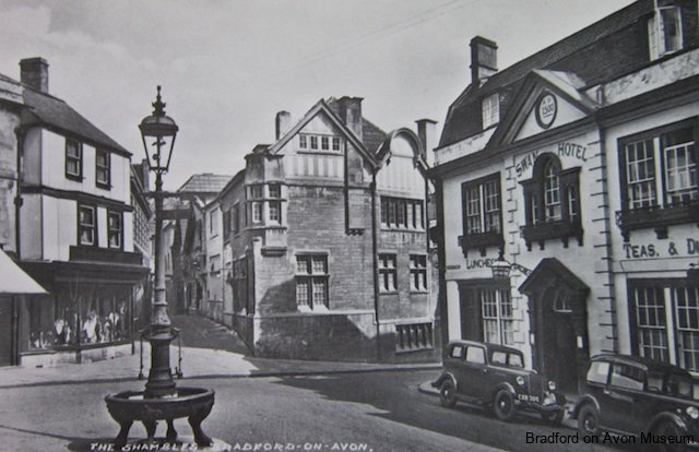 Market Street and Shambles, Bradford on Avon c1930
