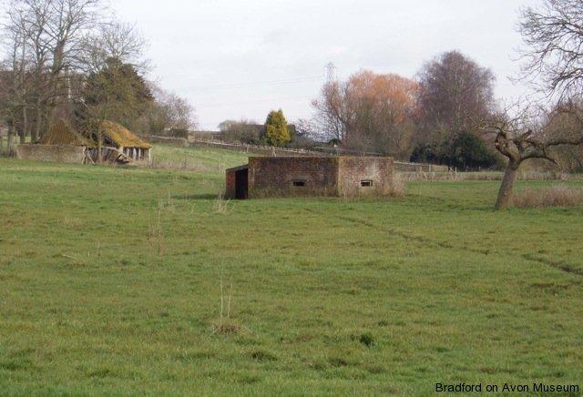Pillbox at Monkton, Broughton Gifford