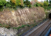 railway cutting, Bradford on Avon