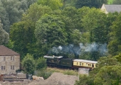 GWR Castle Class at Greenland in Bradford on Avon