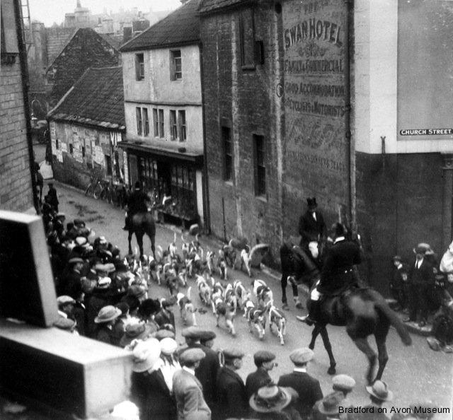 Hunt meeting, Horse Street, Bradford