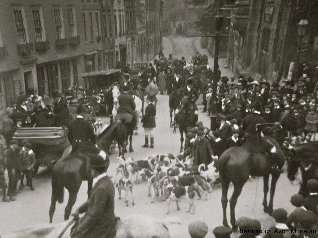 Hunt meeting, Church Street, Bradford