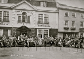 Motorcycle club, Swan Hotel 1912