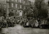 motorcycle club, Church Street c1912