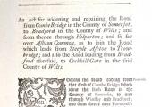 1752 Bradford Turnpike Act