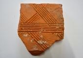 flue tile fragment
