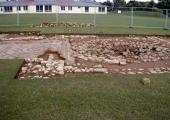 Budbury Roman villa excavation 2003