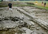 Budbury Roman villa excavation, with Mark Corney