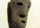 Roman clay head