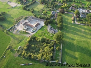 Kelston, Somerset from the air