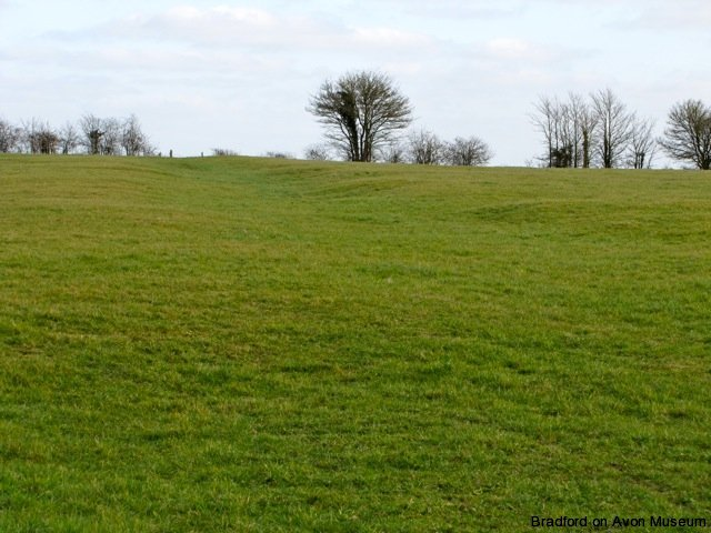 earthworks on the site of Rowley village