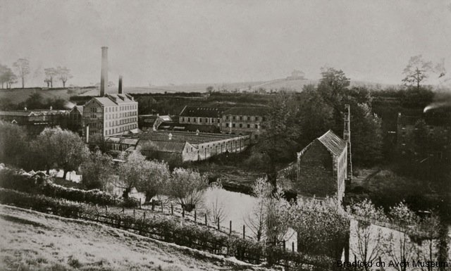 Sirdar Rubber factory, Greenland Mills in 1906