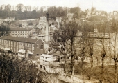 Kingston Mills from St Margaret\'s Hill, pre-WW1
