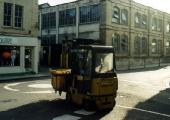 Avon forklift, Silver Street, 1990