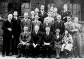 Spencer Moulton staff outing, c1920