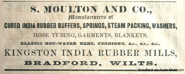 Stephen Moulton advertisement 1859