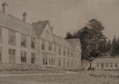 Drawing of the Winsley Sanatorium 1975