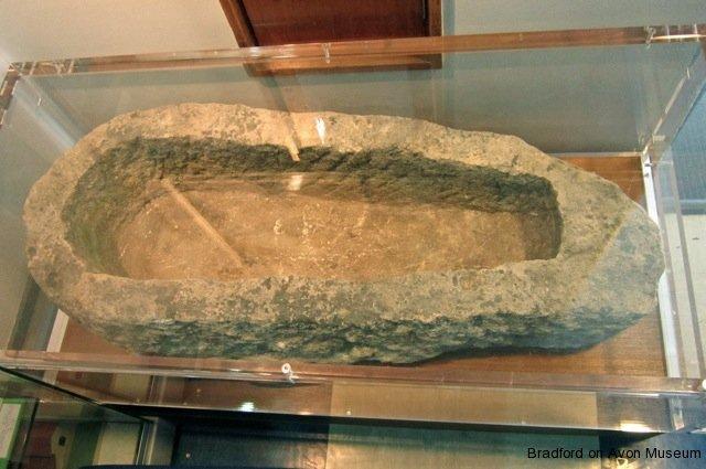 St Laurence School coffin