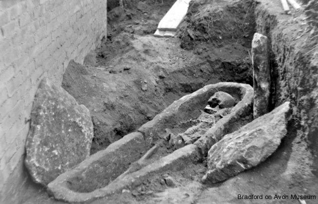 coffin excavation