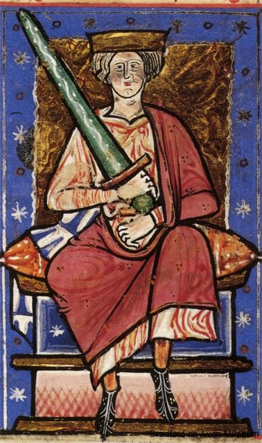 Æthelred II, Abingdon Chronicle, British Library (from Wikipedia)