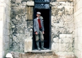 Prof David Hinton, Saxon Church, Bradford on Avon 2000