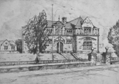 Fitzmaurice School -etching