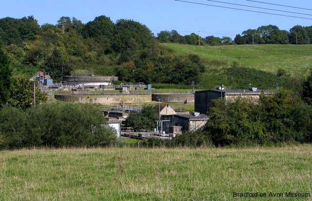Bradford on Avon sewage works