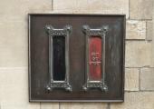 stamp machine, Shambles, Bradford on Avon