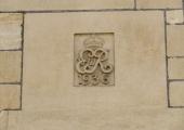 Edward VIII monogram, Post Office, Bradford on Avon