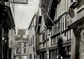 The Shambles, Bradford on Avon, William Bailey barber