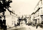 Woolley Street/Silver Street in 1879