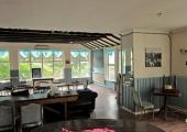 Riverside dining room interior
