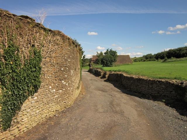 wall at Great Cumberwell