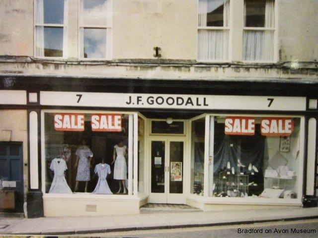 Goodall's shop, Silver Street