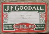 J.F. Goodall label