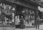 Rogers silk mercer, Silver Street 1879