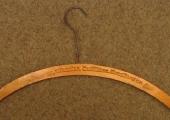 Coat hanger from Arthur Wheeler, Shambles
