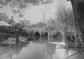 Town Bridge from the north bank, before 1896