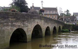The Town Bridge, downstream side