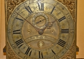 clock made by Joshua Rudd, Bradford on Avon