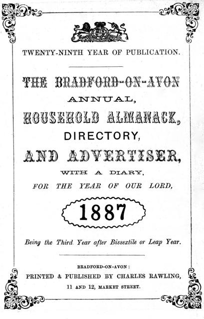 Rawling's Bradford Directory 1887