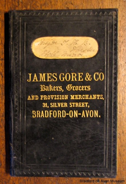 Account book from James Gore, Silver Street
