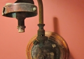 gas light fitting