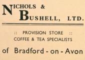 Nichols & Bushell advertisement