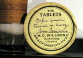 medicines from H.C. Willson