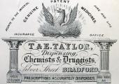 Thomas & Emanuel Taylor card