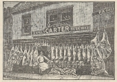 James Carter's butcher shop, Silver Street in 1897