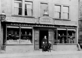 W.H. Willson's chemist shop, 1890s