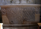 Saxon carved stone slab